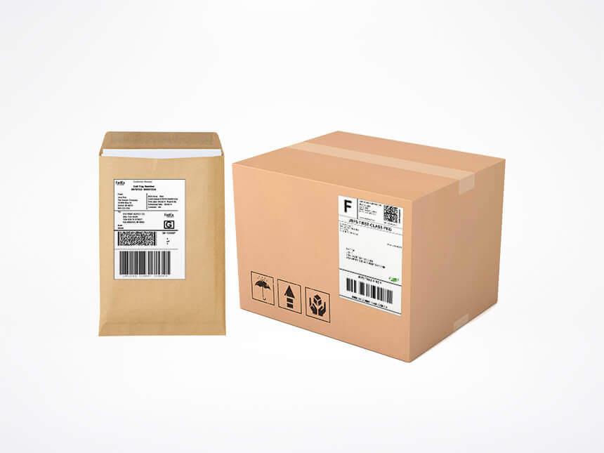 Etiketten für Büro und Handel