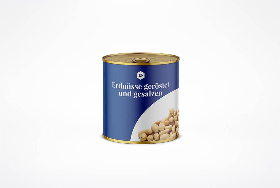 Etiketten für Nüsse