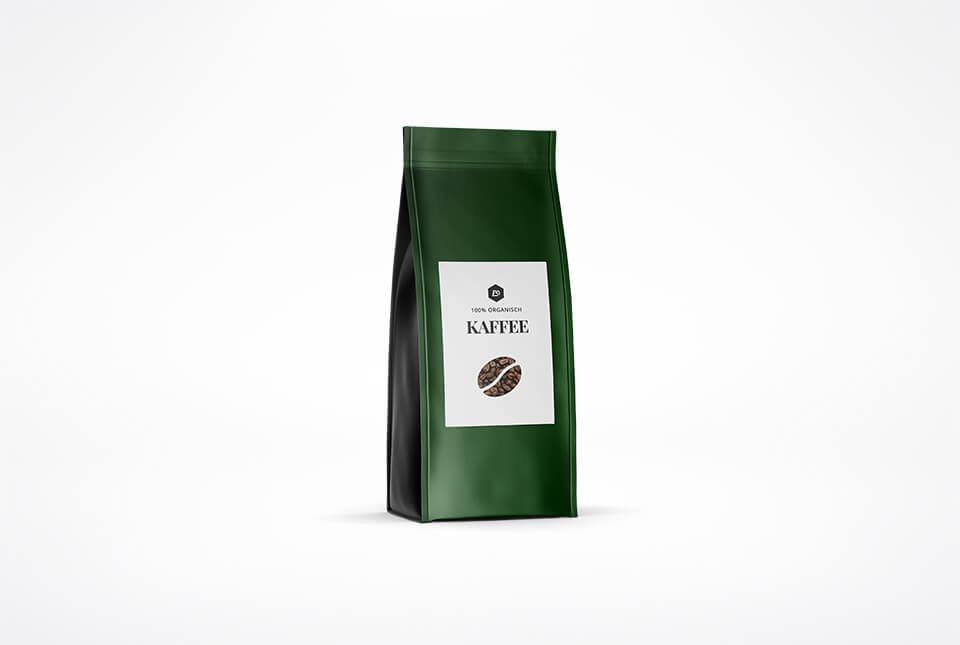 Kaffee–Etiketten