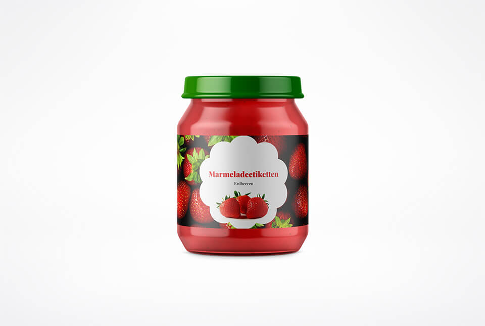 Marmeladeetiketten